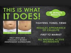 Tighten, tone and firm with 100% natural botanically infused body applicator wraps!