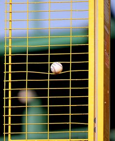 The Red Sox slugger's batting practice drive was hit hard enough to wedge the ball into the Pesky Pole. Red Sox Baseball, Chicago White Sox, Boston Red Sox, David Ortiz, Red Sox Nation, Buster Posey, Yadier Molina, Tampa Bay Rays