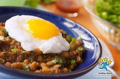 Spiced Lentils with Eggs | 3 Guiding Stars