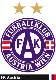 FK+Austria+Wien Football Team Logos, Soccer Logo, Football Kits, Soccer Teams, Fk Austria Wien, Badge Design, International School, Club, Crests