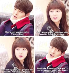 Woo Bin and Ji Won in the Heirs
