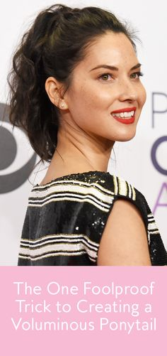 This simple trick will forever change your ponytail game.