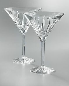 Lismore Martinis, Set of Two by Waterford Crystal at Neiman Marcus.