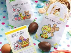 Easter fun! Fab cross stitch charts you'll love ;)