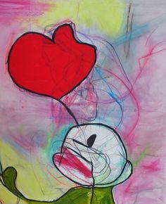 lernen_lachen_lieben Acryl auf Leinen, 100x120 cm, 2012 Painting, Photography, Linen Fabric, Painting Art, Art, Paintings, Paint, Draw