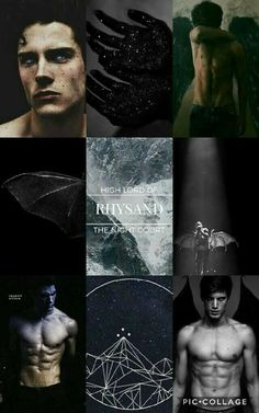 Rhysand!!(would be better if the photos were of Tom Hiddleston. ;) )