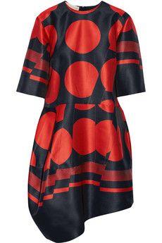 Stella McCartney Ambrosia asymmetric jacquard dress | THE OUTNET