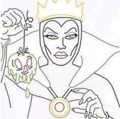 boze koningin chucky dame met draak