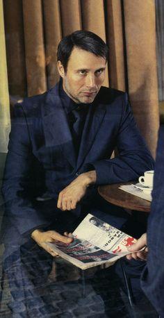 Mads Mikkelsen. Incredibly cool actor.