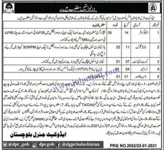 #advocategeneralbalochistanjobs #balochistangovtjobs2021 #govtjobsinquetta Advocate General Balochistan Jobs 2021 Advertisement has been announced in Quetta. Male/Female candidates from across the province can apply for these Latest Jobs in Pakistan 2021. Bachelors degree with 35 tying speed and 80 wpm shorthand speed are the requirements for Stenographer post. Only literate persons can apply for these Govt Jobs 2021 Pakistan.