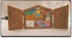 Puzzles in a Box-Patterns - cool puzzle nativity