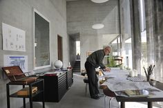 peter zumthor / architect's studio, haldenstein