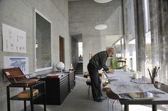 peter zumthor / architect's studio, haldenstein