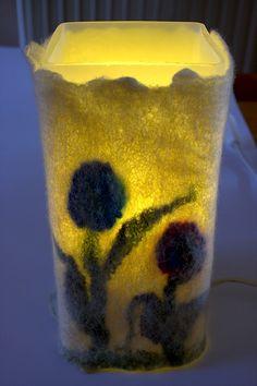 tulpenlamp - tea light holder?
