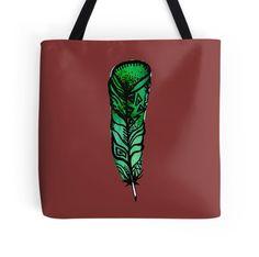Forgotten Green Feather