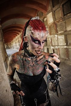 Maria Jose Cristerna, Mexico 'Vampire Woman,' Calls Horns And Piercings 'Sign Of…