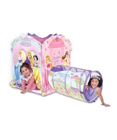 This Disney Princess 'Beautiful Glow' Adventure Hut by Disney is perfect! #zulilyfinds