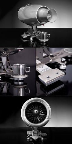 The Aviatore Veloce is a Functional Espresso Machine
