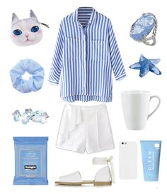 """""""Clean and Crisp"""" by goycotwo ❤ liked on Polyvore featuring Vince Camuto, CLEAN, Pillivuyt, Lalique, Neutrogena and Topshop"""