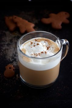 Maple Gingerbread Syrup & Latte