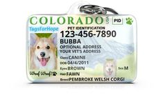 Personalized Pet ID Tags for Dogs & Cats Cool Pets, Cute Dogs, Reactive Dog, Dog Id Tags, Pembroke Welsh Corgi, Pet Safe, Pet Id, Pet Accessories, Dog Gifts