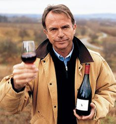 Sam Neill - Acts, writes a hilarious blog post, says more in two words than most people can say with twenty, has mastered the art of being mellow and a bit goofy, loves his tunes, and grows himself a fine bottle of wine.