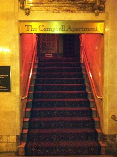 Grand Central Station S The Campbell Apartment Menu Downtown Train Grandcentralnyc