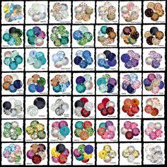 Swarovski Color Palettes & Color Charts c/o stephaniesomers.com