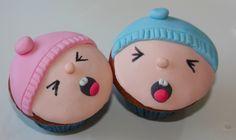 Cómo se decoran cupcakes de bebes