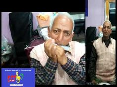 Music For India_64 Years Old Man Playing Mouth Organ
