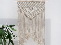 Macrame wall art, macrame wall hanging, macrame wall decor, wall hanging macrame, boho by MOXmacrame on Etsy https://www.etsy.com/listing/448923928/macrame-wall-art-macrame-wall-hanging