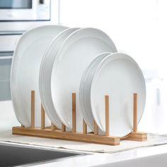 Ξύλινο Στραγγιστήρι Πιάτων