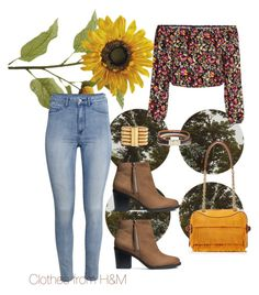 Mustard Manny by modreflectionblog on Polyvore featuring polyvore fashion style H&M Burberry Balmain Boho & Co clothing