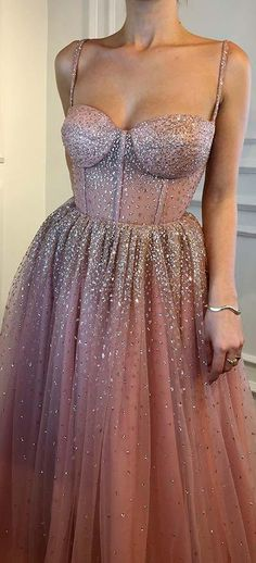 25 Beautiful Prom Dresses for 2018: #18. SPARKLING PRINCESS DRESS; #prom; #promdress