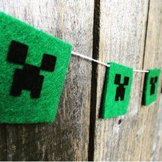 Sugestões e ideias para festa no tema Minecraft – Inspire sua Festa – Bem vindo ao Blog