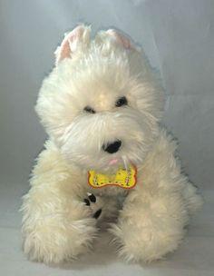 Build-A-Bear-White-Westie-Puppy-Dog-Plush-Animal-West-Hyland-Terrier-Scottie