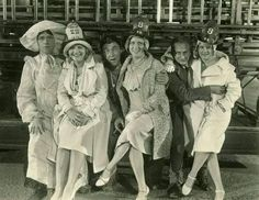 The Three Stooges with their wives, Gertrude, Helen and Mabel circa early 1930s. The Stooges, The Three Stooges, Golden Age Of Hollywood, Old Hollywood, Comedy Acts, San Gabriel, Woodland Hills, Iconic Movies, The Good Old Days