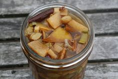 Spicy Lacto-fermented Pear Chutney- Lacto Fermenting is next on my list of things to try!