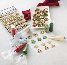 Decorating Spritz Cookies