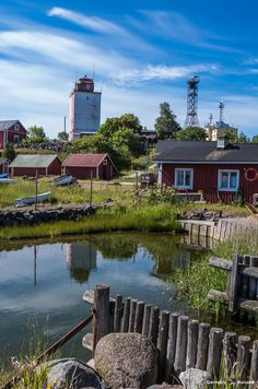 Colors of Utö - Finland Beacon Of Light, Archipelago, Lighthouses, Finland, Feel Good, Outdoors, Sea, Explore, Mansions