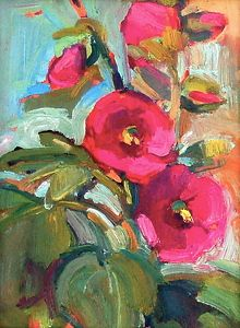 ❀ Blooming Brushwork ❀ - garden and still life flower paintings - Susan Mayfield