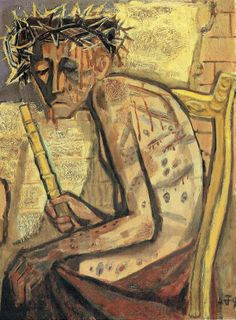Otto Dix - Ecce Homo III, 1949