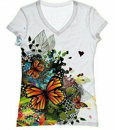 Pullover da Donna Tunica Maglietta Manica Lunga GLITTER LIBELLULE XL//XXL 46 48