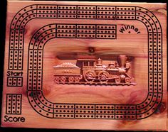 Cribbage Board created by Terry Thompson