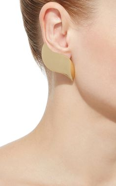 Gold Annabel Earrings by Ana Khouri | Moda Operandi