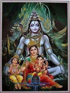 Family: Ganesh, Karthikeya, Parvati, Shiv