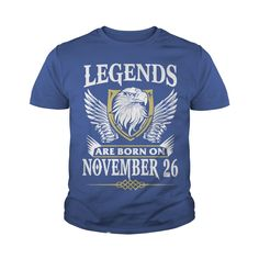 Kings Legends Are Born On November 26 T-Shirt #gift #ideas #Popular #Everything #Videos #Shop #Animals #pets #Architecture #Art #Cars #motorcycles #Celebrities #DIY #crafts #Design #Education #Entertainment #Food #drink #Gardening #Geek #Hair #beauty #Health #fitness #History #Holidays #events #Home decor #Humor #Illustrations #posters #Kids #parenting #Men #Outdoors #Photography #Products #Quotes #Science #nature #Sports #Tattoos #Technology #Travel #Weddings #Women