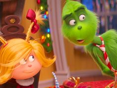 The Grinch with Cindy Lou Who Snoopy Christmas, Grinch Stole Christmas, Christmas Art, Christmas Gifts, Christmas Ornaments, O Grinch, The Grinch Movie, Christmas Cartoon Movies, Christmas Cartoons