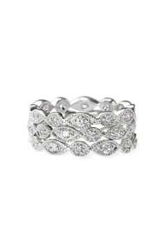 Stella & Dot Stackable Deco Rings $49 (Used these as my replacement wedding ring when pregnant!)