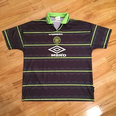Celtic Scotland 1998 Umbro Away Football Shirt Jersey Vintage